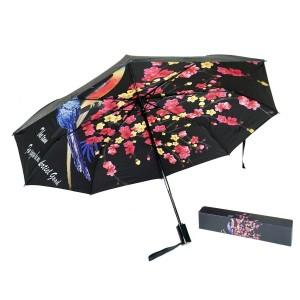 Зонт «Сакура», черный