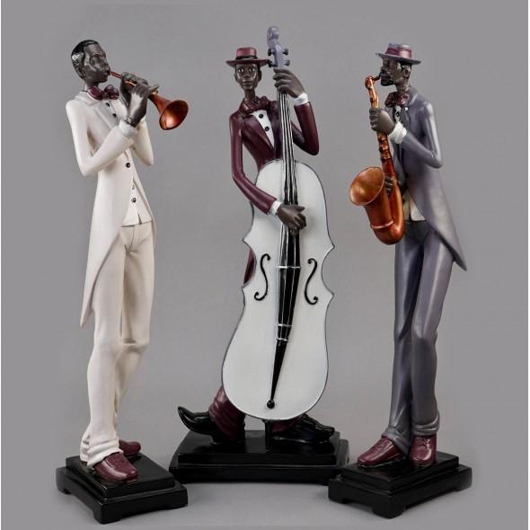Статуэтки «Джаз-группа», трио