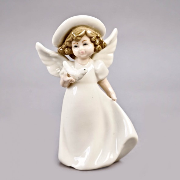 Ангелочек средний в шляпе