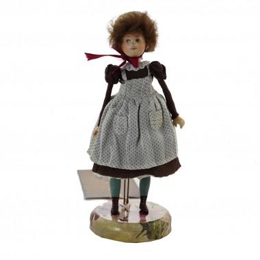 Кукла-лицеистка коллекционная «Поля-Полина»