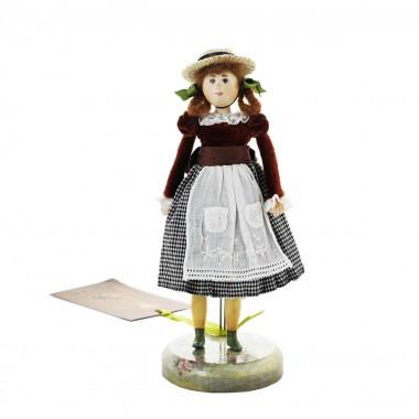 Кукла-лицеистка коллекционная «Ангелина-Геля»