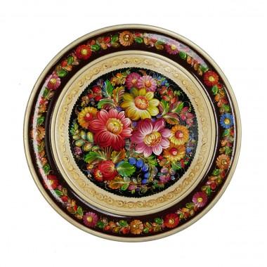 Панно круглое «Цветы»