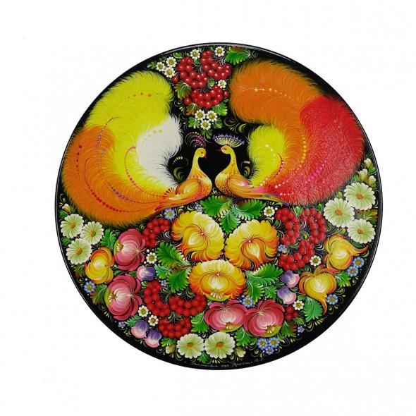 Панно круглое «Жар-птица»