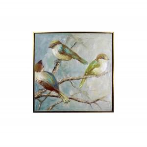Три картины «Птицы»