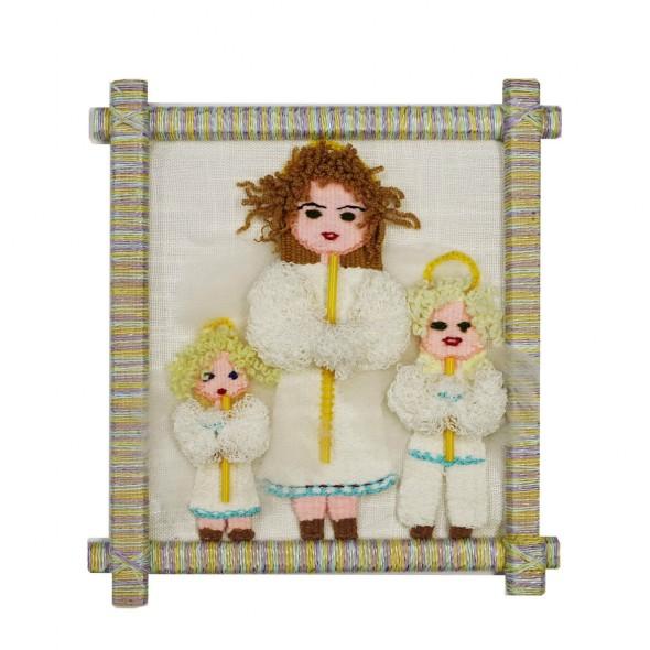 Картина «Ангелы со свечами»