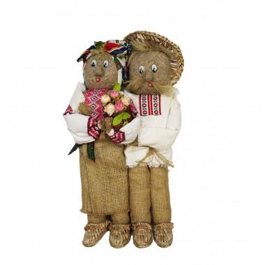 Сувенирная пара «Хозяин с хозяйкой»