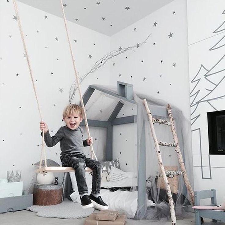 Обустраиваем детскую - интересные идеи декора